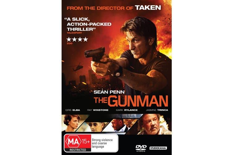 The Gunman DVD Region 4