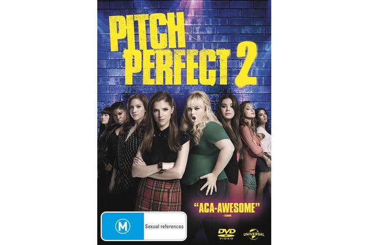 Pitch Perfect 2 DVD Region 4