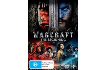 Warcraft The Beginning DVD Region 4
