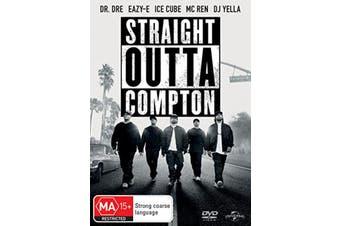 Straight Outta Compton DVD Region 4