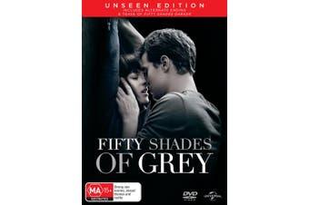 Fifty Shades of Grey DVD Region 4