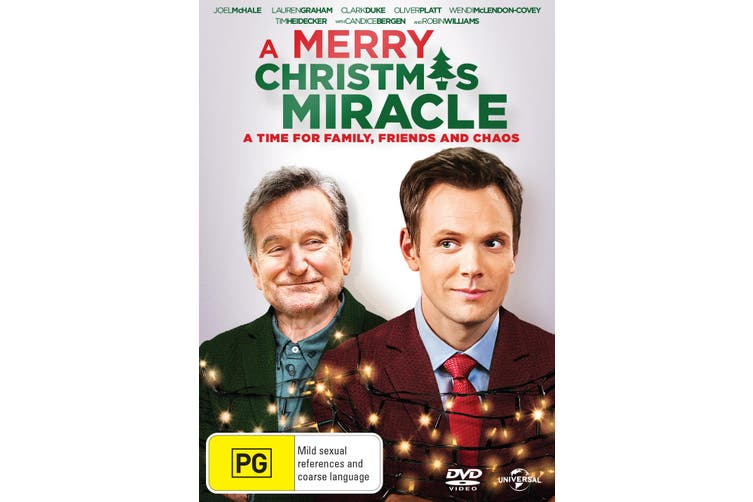 A Merry Christmas Miracle DVD Region 4