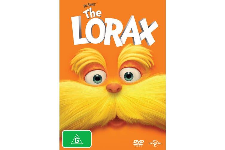 The Lorax DVD Region 4