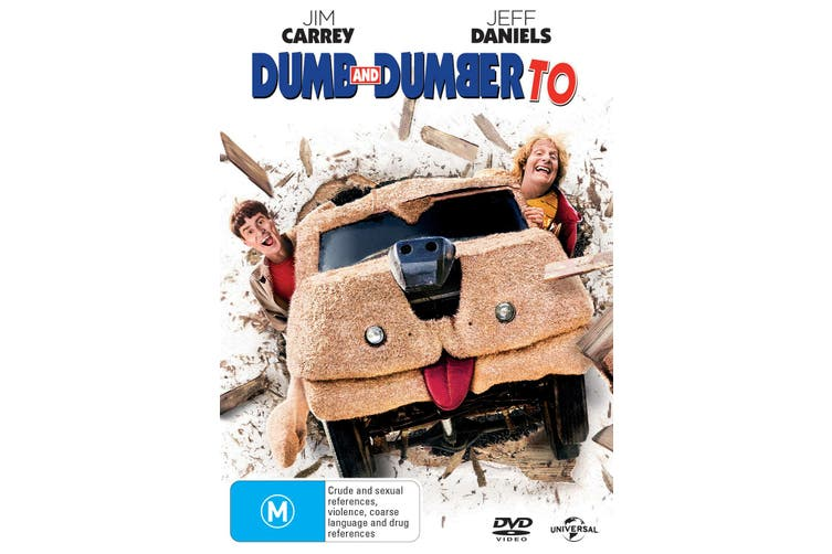 Dumb and Dumber To DVD Region 4