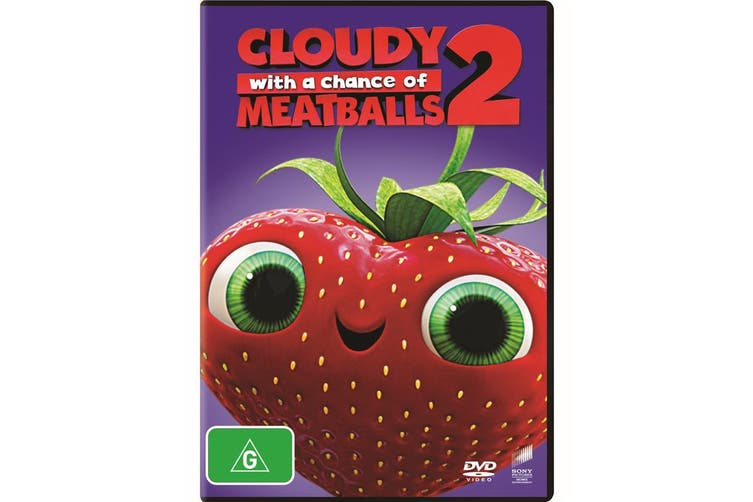 Cloudy With a Chance of Meatballs 2 DVD Region 4