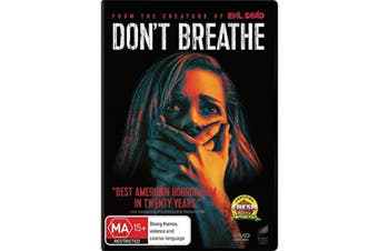 Dont Breathe DVD Region 4