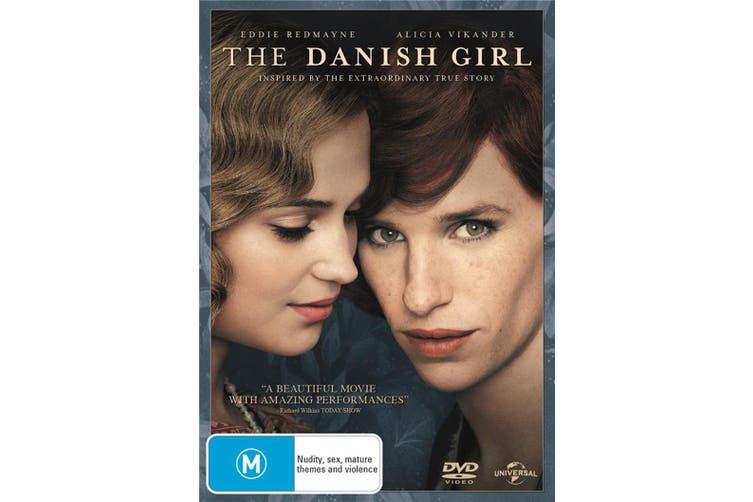 The Danish Girl DVD Region 4