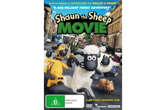 Shaun the Sheep Movie DVD Region 4