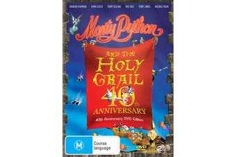 Monty Python and the Holy Grail 40th Anniversary Edition DVD Region 4