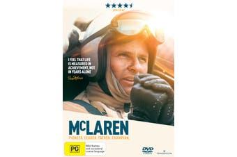 McLaren DVD Region 4