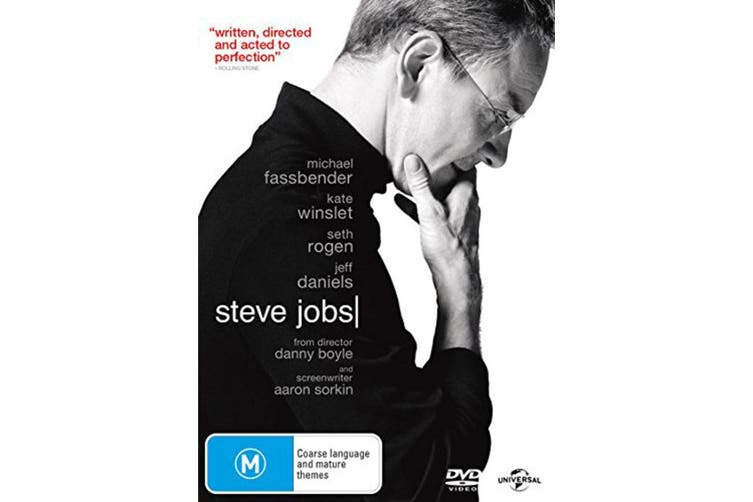 Steve Jobs DVD Region 4