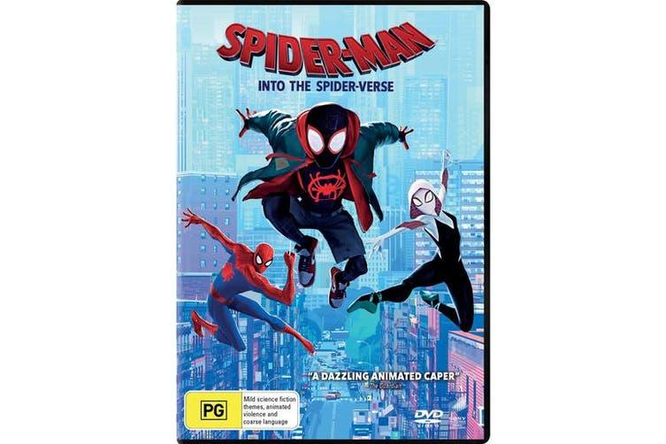 Spider Man Into the Spider verse DVD Region 4