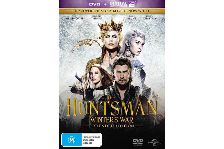 The Huntsman Winters War DVD Region 4