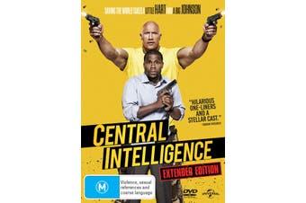 Central Intelligence DVD Region 4