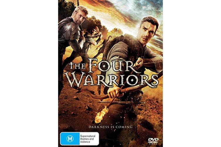 The Four Warriors DVD Region 4