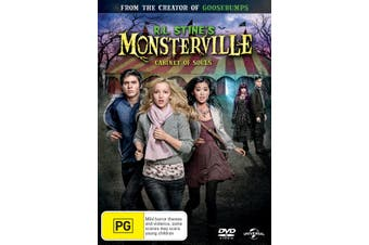 RL Stines Monsterville Cabinet of Souls DVD Region 4