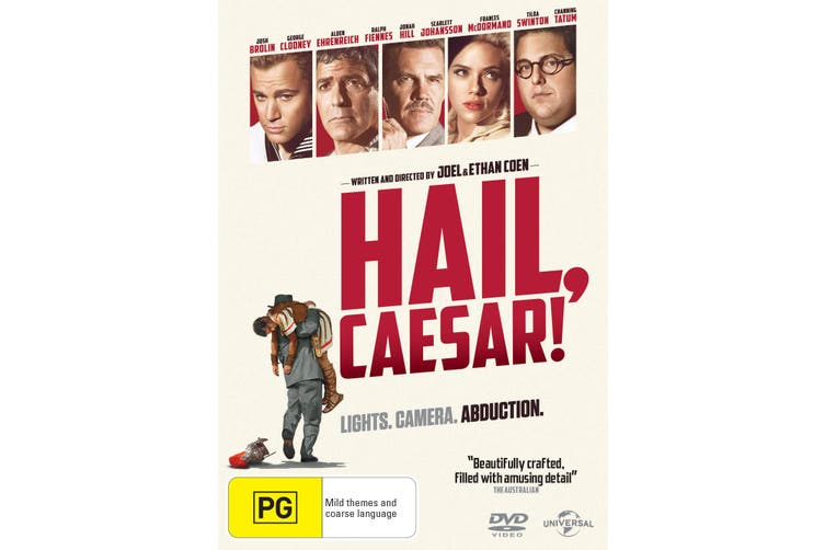 Hail Caesar DVD Region 4