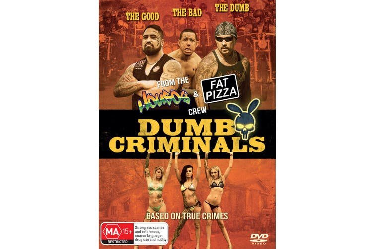 Dumb Criminals The Movie DVD Region 4