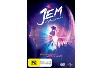 Jem and the Holograms DVD Region 4