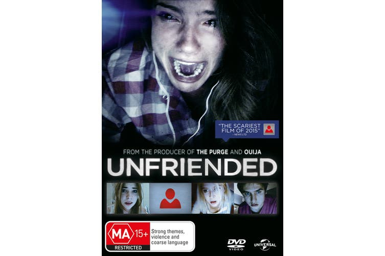 Unfriended DVD Region 4