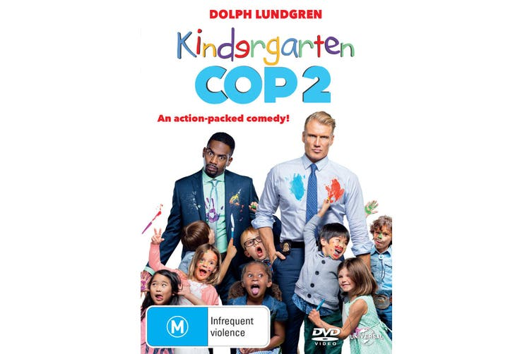 Kindergarten Cop 2 DVD Region 4