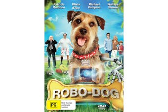 Robo dog DVD Region 4