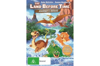 The Land Before Time 14 Journey of the Brave DVD Region 4