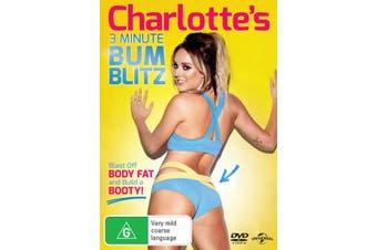 Charlottes 3 Minute Bum Blitz DVD Region 4