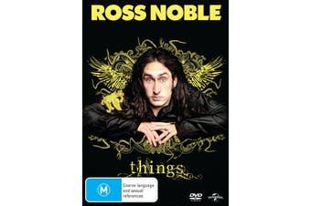 Ross Noble Things DVD Region 4