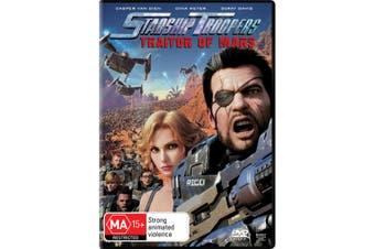 Starship Troopers Traitor of Mars DVD Region 4