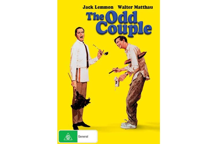 The Odd Couple DVD Region 4