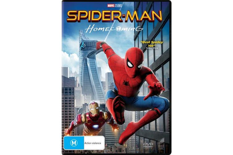 Spider Man Homecoming DVD Region 4