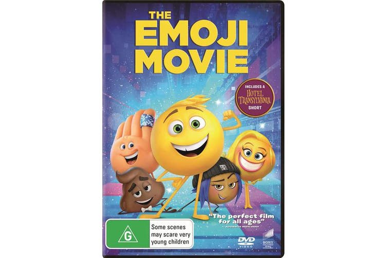 The Emoji Movie DVD Region 4