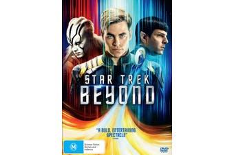 Star Trek Beyond DVD Region 4