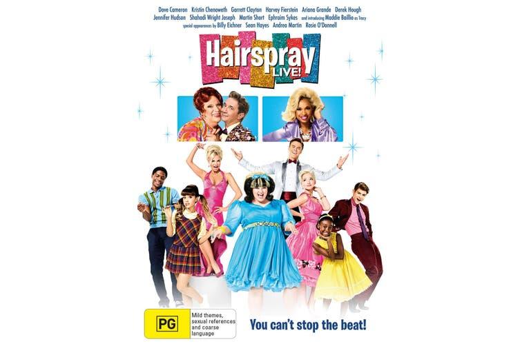Hairspray Live DVD Region 4