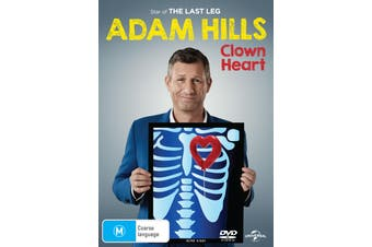 Adam Hills Clown Heart DVD Region 4