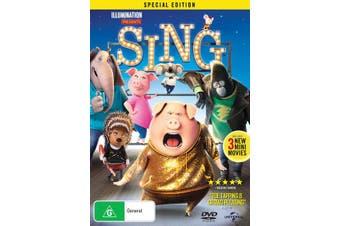 Sing DVD Region 4