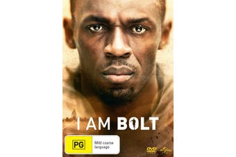 I Am Bolt DVD Region 4
