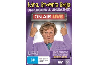 Mrs Browns Boys Unplugged and Unleashed On Air Live DVD Region 4