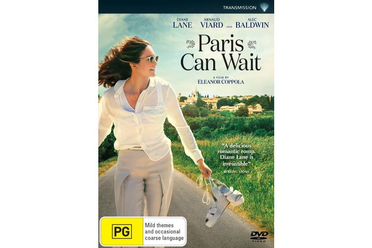Paris Can Wait DVD Region 4