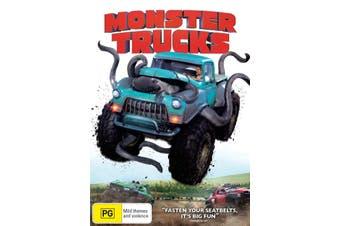 Monster Trucks DVD Region 4