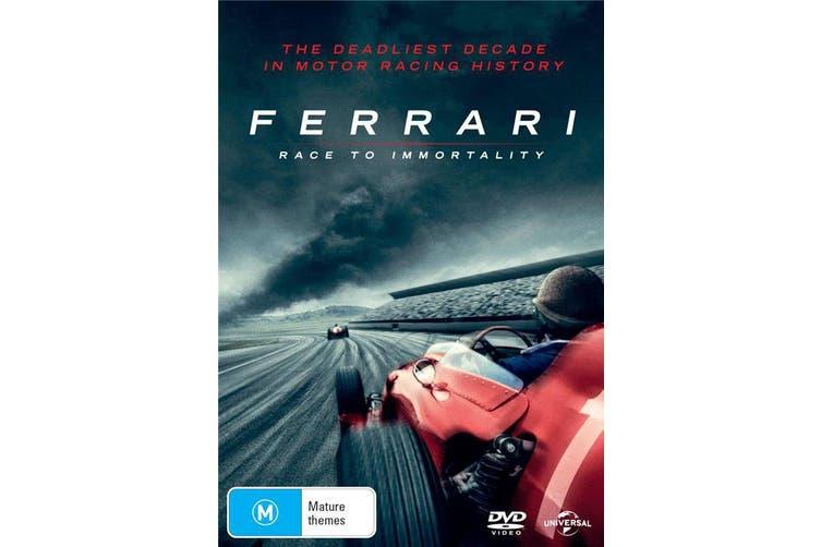 Ferrari Race to Immortality DVD Region 4