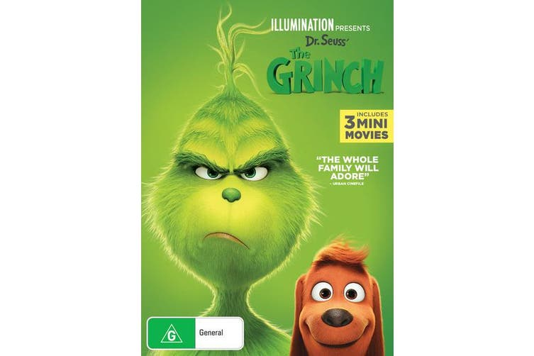 The Grinch 2019 Release DVD Region 4