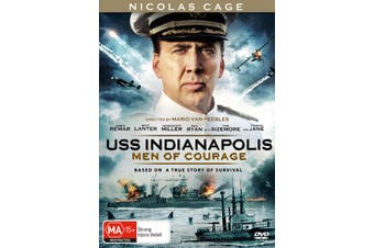 USS Indianapolis Men of Courage DVD Region 4