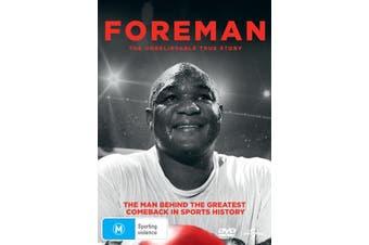 George Foreman The Resurrection DVD Region 4
