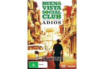 Buena Vista Social Club Adios DVD Region 4