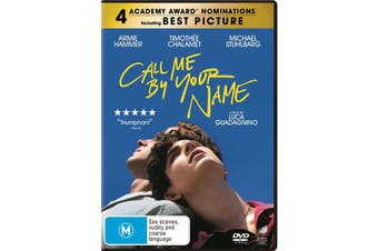 Call Me By Your Name DVD Region 4