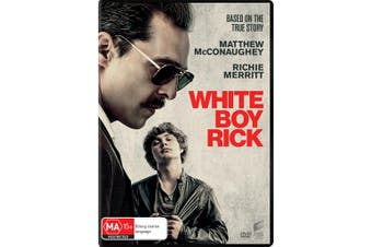 White Boy Rick DVD Region 4