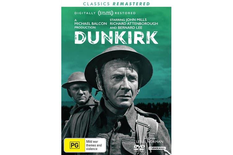 Dunkirk DVD Region 4