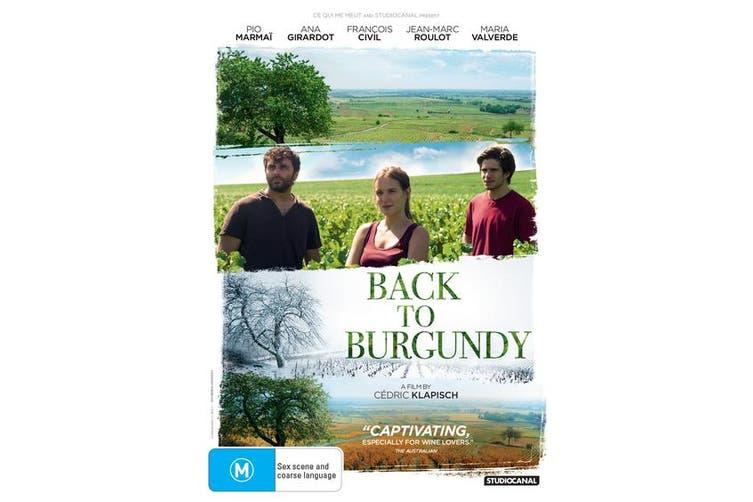Back to Burgundy DVD Region 4